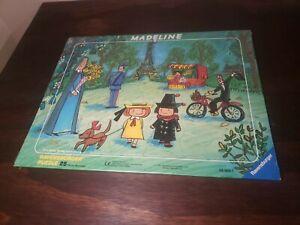 "MADELINE in Paris Park 25-Piece Jigsaw PUZZLE Ravensburger 11""x14"" Eiffel Tower"