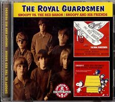 THE ROYAL GUARDSMEN - SNOOPY VS. THE RED BARON/SNOOPY AND HIS FRIENDS CD 2001
