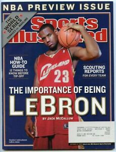 SI: Sports Illustrated October 27, 2003 The Importance of being LeBron Cover VG