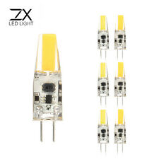 ZX Dimmable Mini G4 LED COB LED Bulb 6W DC/AC 12V Chandelier Halogen G4 Lamps