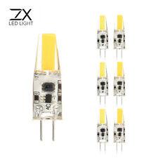 ZX Dimmable Mini G4 LED COB LED Bulb 6W DC/AC 12V Chandelier Halogen G4 Lamps