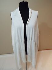 Women ladies cream spring cardigan size WO/S by Coldwater Creek free shipping
