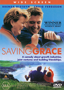 Brenda Blethyn Craig Ferguson Martin Clunes SAVING GRACE - MARIJUANA COMEDY DVD