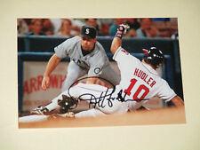 California Angels REX HUDLER Signed 4x6 Photo MLB AUTOGRAPH