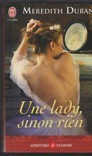 UNE LADY SINON RIEN Meredith Duran roman livre Erotique