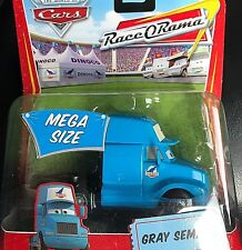DISNEY CARS MODELLINI: GRAY SEMI # 10 DINOCO KING