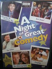 A NIGHT OF GREAT COMEDY (DVD) 5 Complete Episodes BBC Video WORLD SHIP!