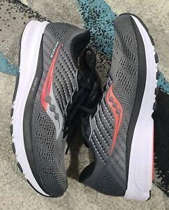 Saucony Ride 13* Men's Running Shoe, Dark Grat *Sz US 9.5 Euro 43* S20579-30*NEW