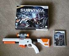 Cabela's Survival Shadows of Katai Game and Top Shot Elite Gun for Nintendo Wii