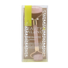 Beauty & Balance Rose Quartz Facial Massage Roller oz/ml  New In Box