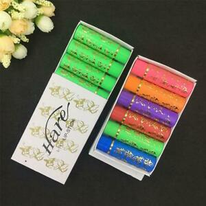 6pcs/ Set Hare Magic Moroccan Lipstick Color Changing Green To Pink