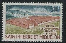 St. Pierre 1970 SC 405 Set NH CV $16  - Quarantine Station
