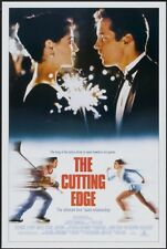 "THE CUTTING EDGE 27""x41"" Original Movie Poster One Sheet D.B. Sweeney Mora Kelly"
