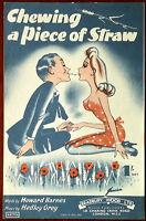 Chewing A Piece Of Straw by Hedley Grey & Howard Barnes – Pub. 1945