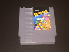 Q Bert Nintendo Nes Cleaned & Tested