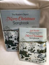Readers Digest Merry Christmas Songbook With Lyric Booklet. For Organ Piano 701
