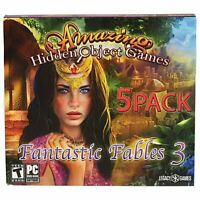 Fantastic Fables 3 PC Game 5 Pack 2017 Amazing Hidden Object Games Legacy Games