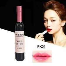 Red Wine Lip Tint Liquid Matte Lipstick Waterproof Design Bottle Fashion PK01 GA