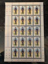 More details for saint lucia £15 royal reg of artillery stamp u/m