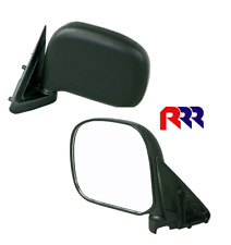 FOR TOYOTA HIACE RZH 89-05 DOOR MIRROR, MANUAL, BLACK - PASSENGER SIDE