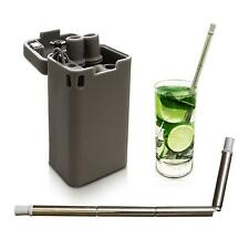 Collapsible Straw Folding Reusable Drinking Straw
