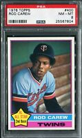 1976 Topps #400 Rod Carew PSA 8 NM-MT