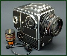 1976 HASSELBLAD 500 EL/M camera with Planar T* 80mm f/2.8 lens and more!!