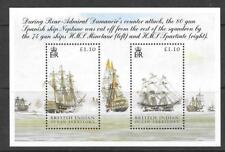British INDIAN OCEAN TERR SGMS 325 2005 battaglia di Trafalgar Gomma integra, non linguellato
