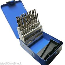 51pc Engineering Drill Bit Set Hss 1 - 6mm in 0.1mm Increments