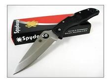 Spyderco Endura 4 Negro Acero VG-10 Fabricado En Japón SC10PBK