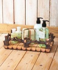 Woodland Branch Bath Tray Logs Cabin Northwoods Rustic
