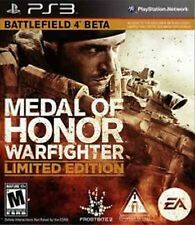 Medal of Honor Warfighter Limited Edition complete incase Sony Playstation 3 PS3