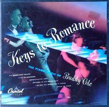 BUDDY COLE - KEYS TO ROMANCE - CAPITOL LABEL - (3) 45 BOX SET