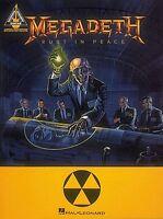 Megadeth Cryptic Writings Sheet Music Guitar Tablature NEW 000690244