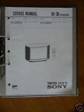 Service MANUAL Sony kv-c2991 Trinitron Tv, ORIGINALE