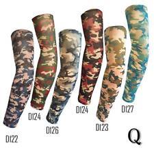 Cool Set Of 6 Temporary Fake Slip on Tattoo Arm Sleeves Fake Camo Tattoo Sleeves