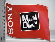 Aufkleber Sticker SONY - MiniDisk (6768)