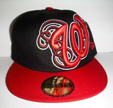 WASHINGTON NATIONALS DC MLB NEW ERA 59FiIFTY FITTED SIZE 7 1 2 HAT100% Wool 24d8f87e43f0