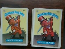 GARBAGE PAIL KIDS ORIGINAL 5TH SERIES COMPLETE A/B VARIATION SET  88 CARDS!