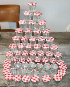 BONNE MAMAN confiture petit pot/bocal. confitures conserves Chutney épices X 55