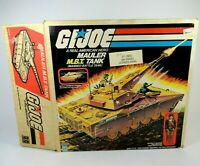 Box Only Vintage GI JOE 1985 MBT Mauler Tank Original