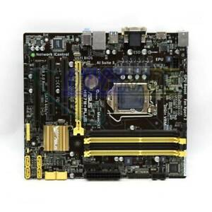Asus H87M-Plus VGA DVI DDR3 LGA 1150 Micro-ATX Motherboard Tested
