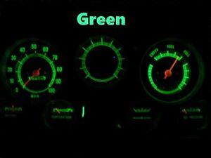 Gauge Cluster LED Dashboard Bulbs Green For GMC 67 - 72 C15 C25 C35 K15 Truck