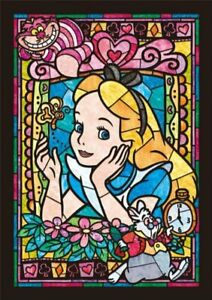 Tenyo Disney Alice in Wonderland Jigsaw Puzzle - Stained Glass 266 pieces