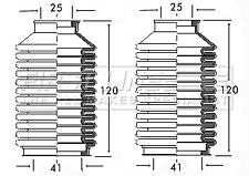 VW GOLF Mk2 1.0 Steering Rack Boot 84 to 91 Gaiter Bellow Firstline 191419831