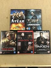 Liam Neeson Dvd Bundle Of 5 Dvd Films