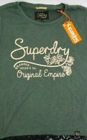 Superdry Womens Tee Original Empire Size Small RRP $129