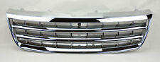 VW Touareg 03-07 Chrome Front Hood Badgeless Horizontal Sport Grill