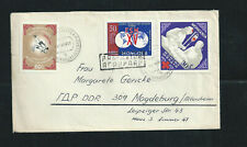 medical - medecine 1951 on nice cover from Mongolia to Germany , very fine