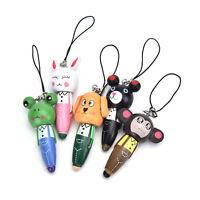 1Pc Wooden Animal Ballpoint Pen Bag Pendant Kid Stationery Gift Random ATAU
